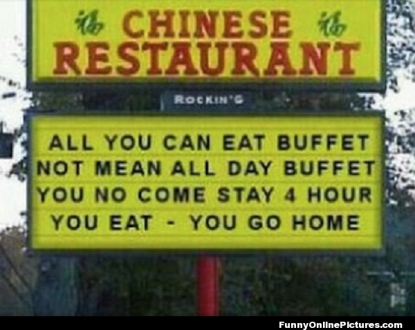 Chinese Buffet Sign Lmao Visit Www Lovablequotes Com To See More Sweet Love Quotes