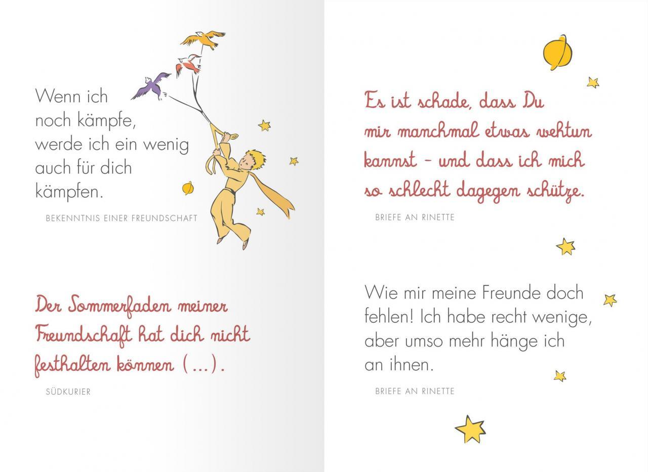 Freundschaft Schonsten Zitate Von Antoine De Saint Exupery Amazon De Antoine De Saint Exupery Bucher