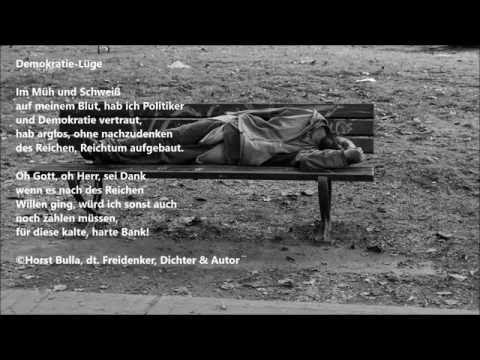 Gedicht Demokratie Luge Von Horst Bulla Dt Freidenker Dichter Autor