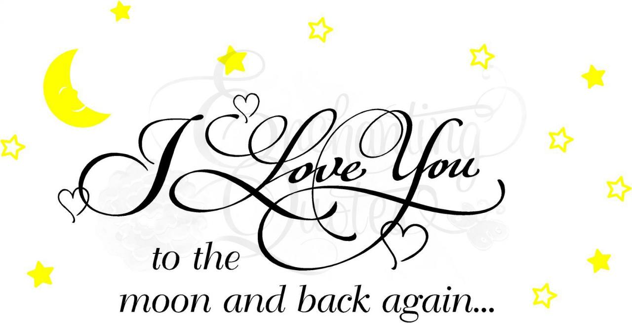 Moon Quotes And Sayings Love You To The Moon And Back Quotes