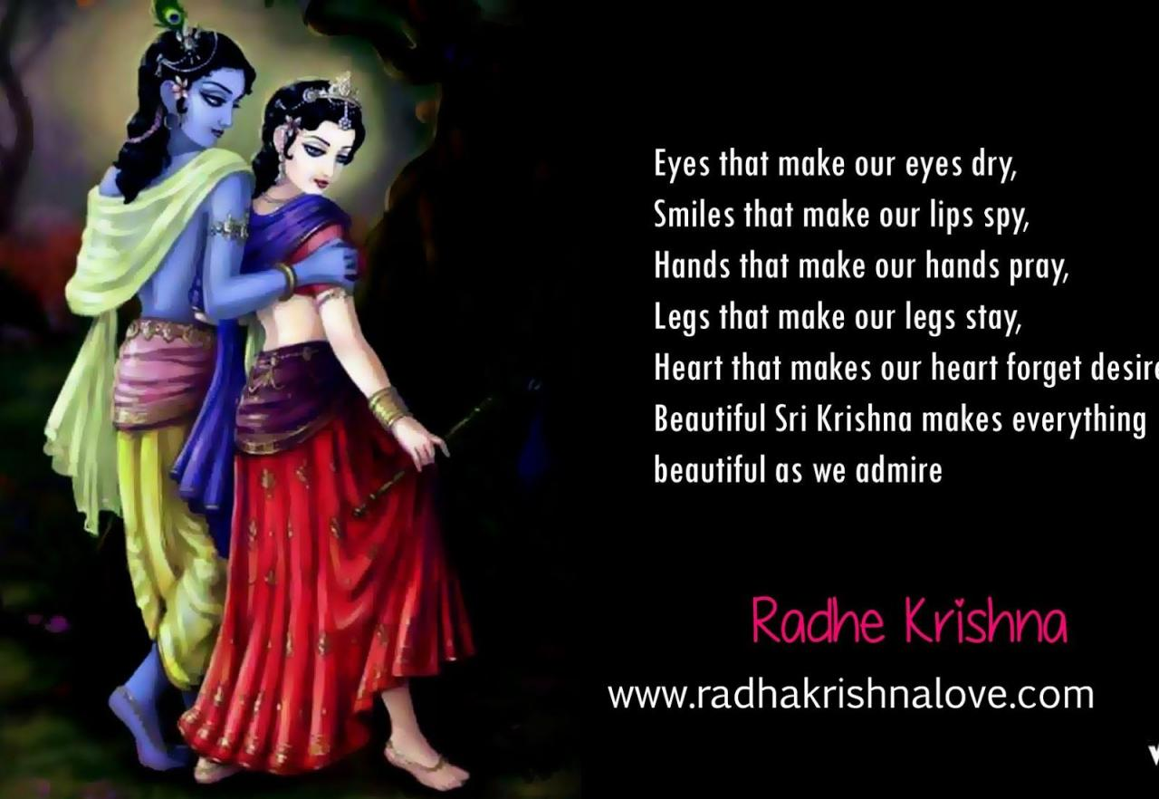 Radha Krishna Quotes On Love In English