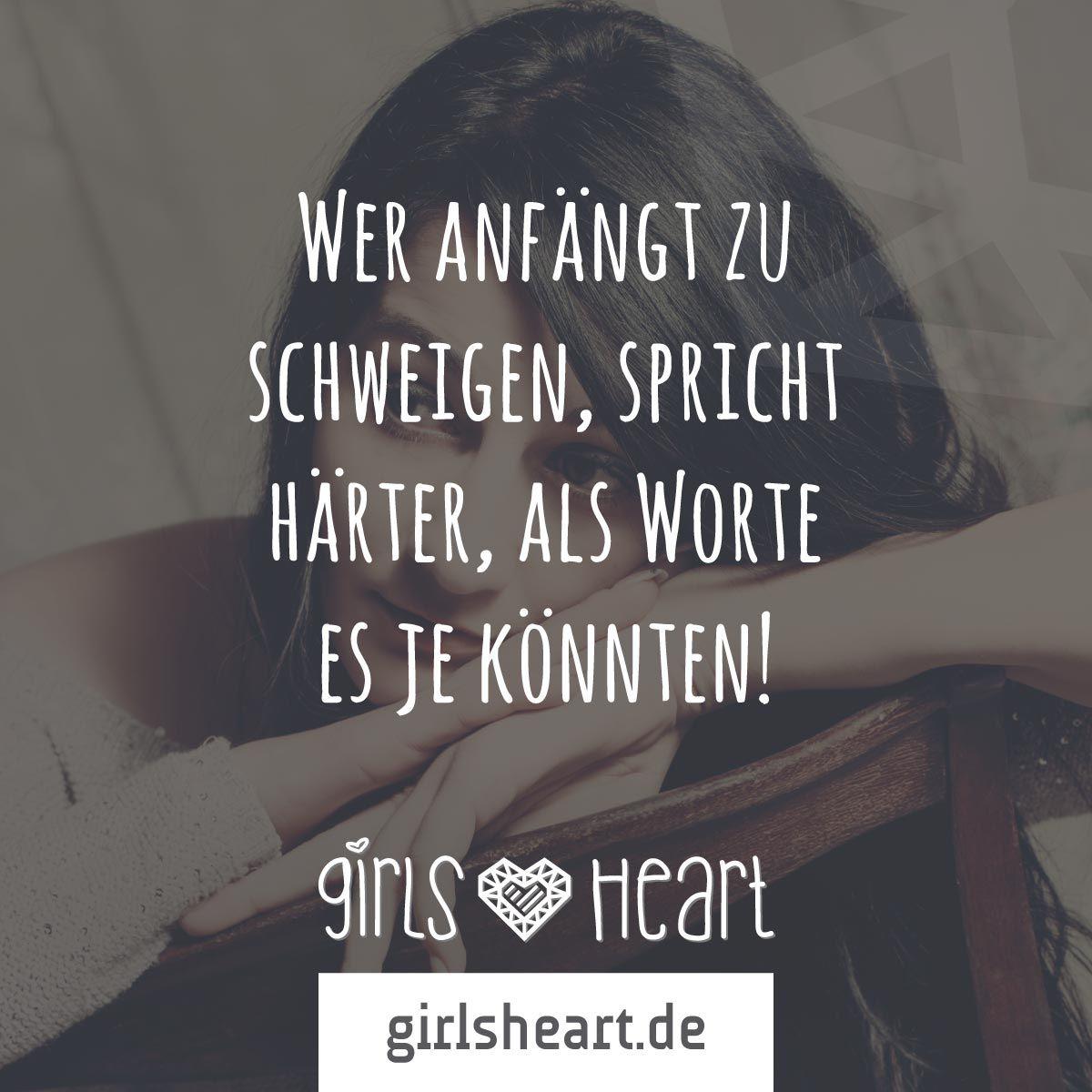 Mehr Spruche Auf Www Girlsheart De Schweigen Trauer Wut Enttauschung