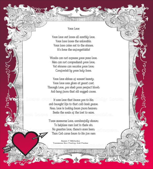 Valentines Day Quotes My Love For Him Is Fading Christian Images In My Treasure Box Your Love Poem Poster