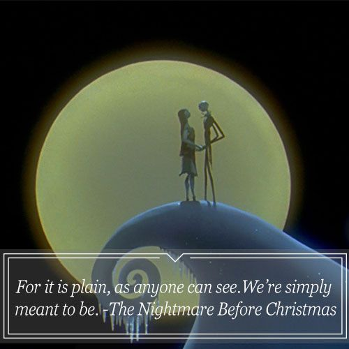 I Looove Nightmare Before Christmas Sooo Much Best Disney Quotes Pixar Quotes Power Of