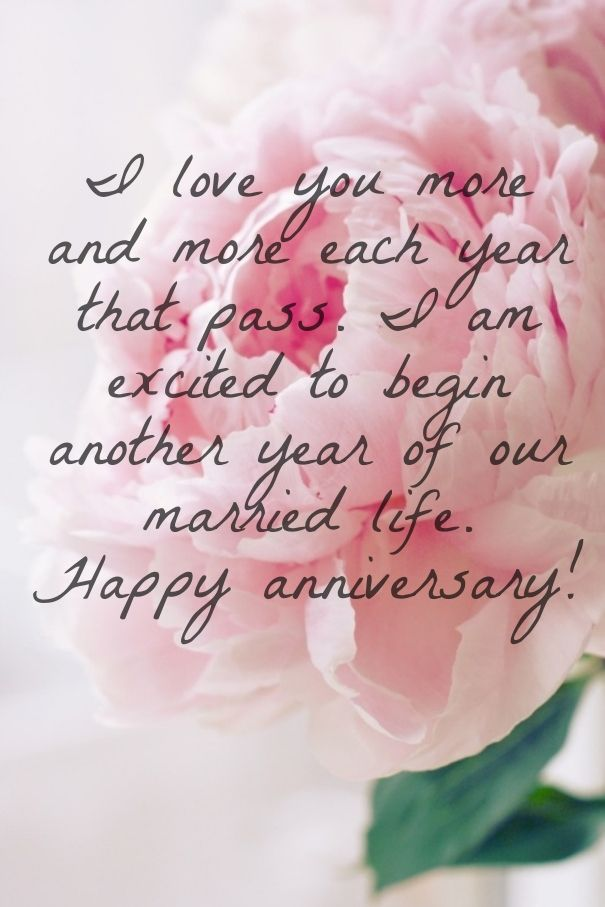 Happy Anniversary Wishes For Husband With Love Cute Love Quotes For Her Pinterest Happy Anniversary Anniversaries And Qoutes
