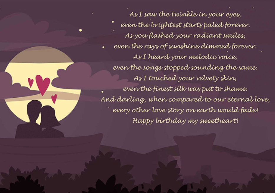 Need Happy Birthday Poems For Your Husband Wife Brother Or Sister Find Funny Short Happy Birthday Poems For Your Friend Mom Or Daughter Right Here