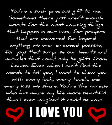 I Love You You Are Such A Precious Gift To Me We  C B Sayings And Quotesfunny