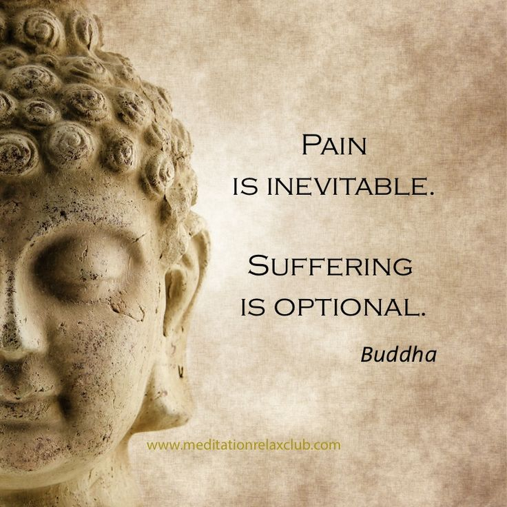 Suffering Is Optional Buddha Quote