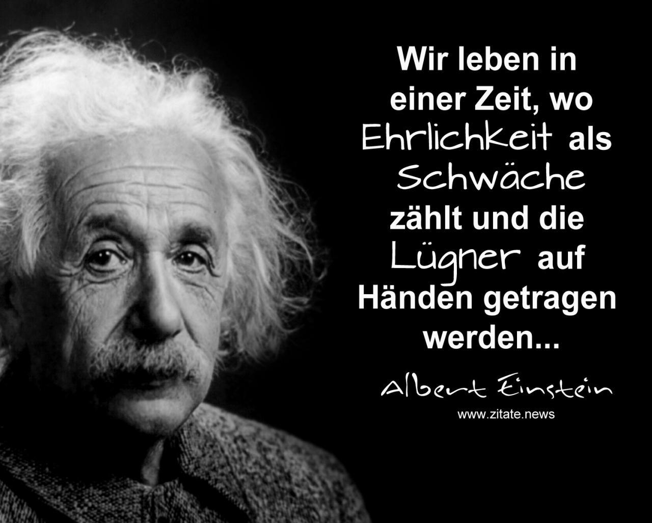 Albert Einstein Zitate News