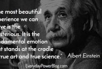 Inspirational Albert Einstein Quotes About Love