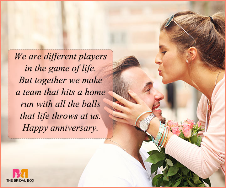 Love Quotes For Husband On Anniversary We Make A Team