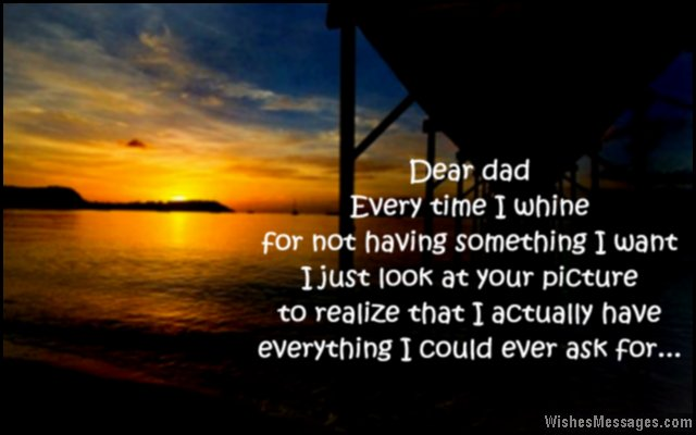 Beautiful Quote To Say I Love You To Dad