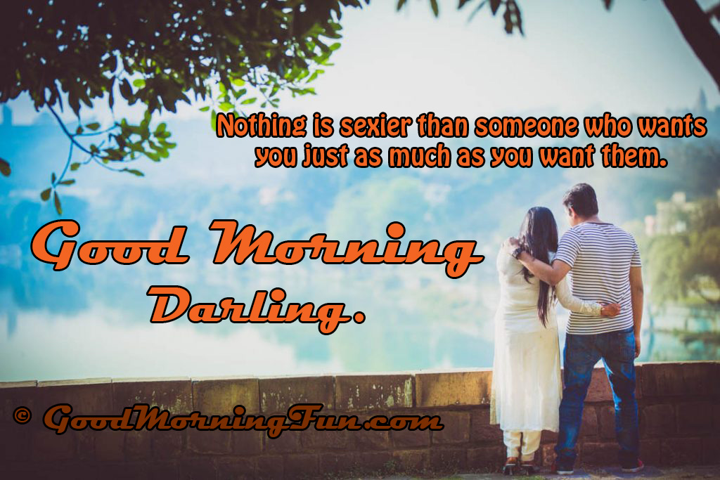 Best Romantic Good Morning Quote For Lover