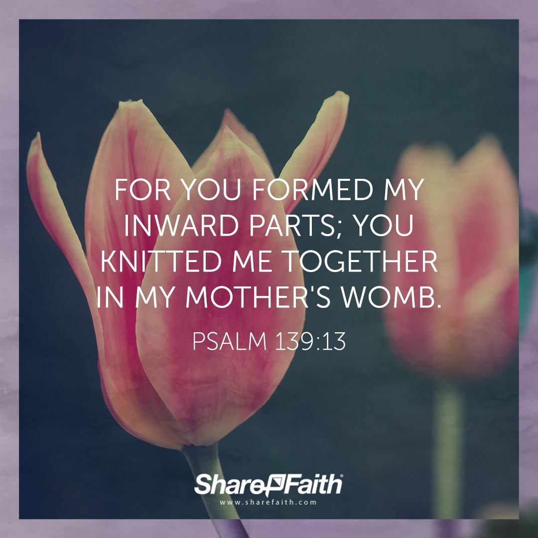 Psalm  Bible Verses For Mothers Day Sharefaith