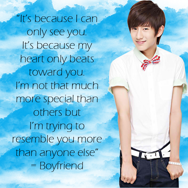 Boyfriend Korean Boy Band Images Boyfriend Love Style Quotes Wallpaper And Background P Os