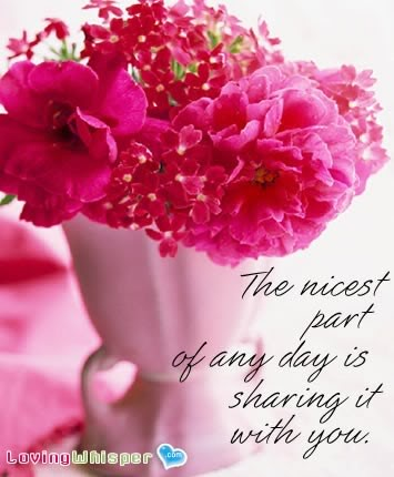 Cute Flower Love Quotes