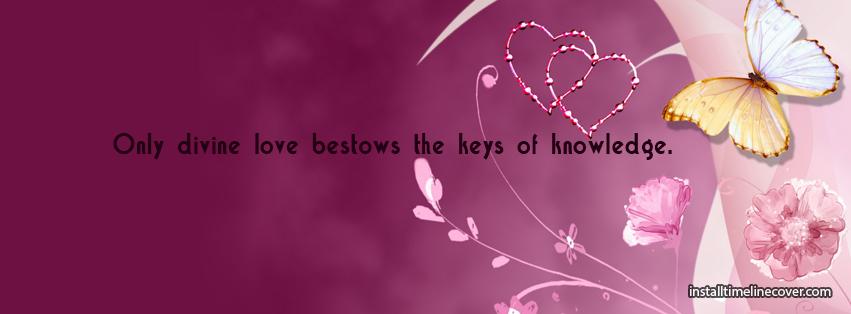 Divine Love Bestows Keys Of Knowledge Cover