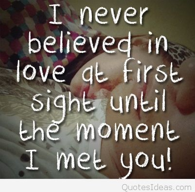 Funny Sayings About Love At First Sight Famous Quote About Love At