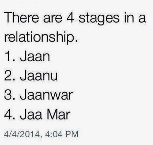 Funny Four Stages Of Love