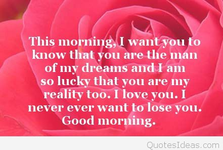 Good Morning Love Quotes For Boyfriend