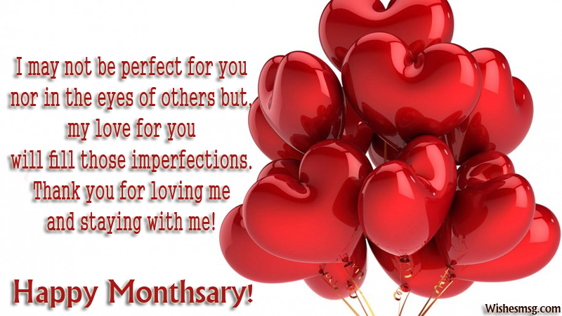 Happy Monthsary Messages For Boyfriend