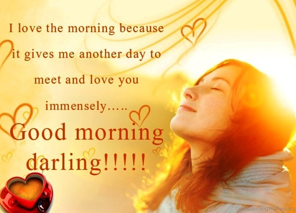 I Love The Morning Because It Gives Me Another Day