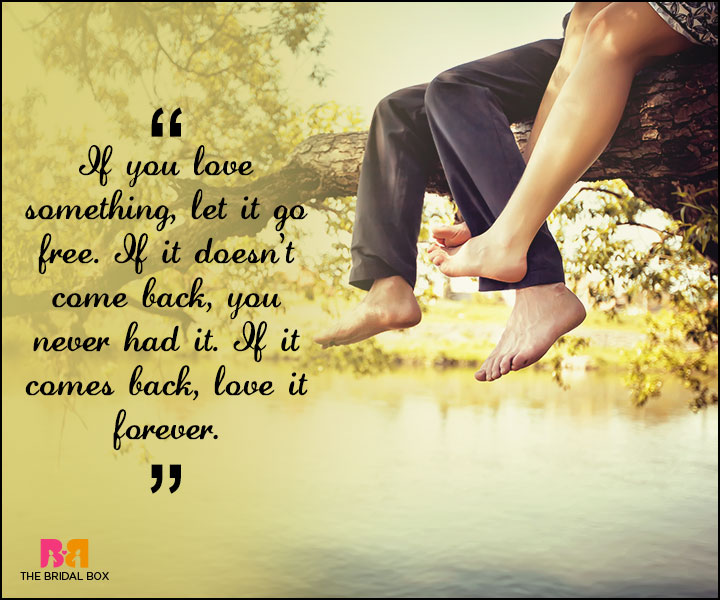 Love Forever Quotes If It Comes Back