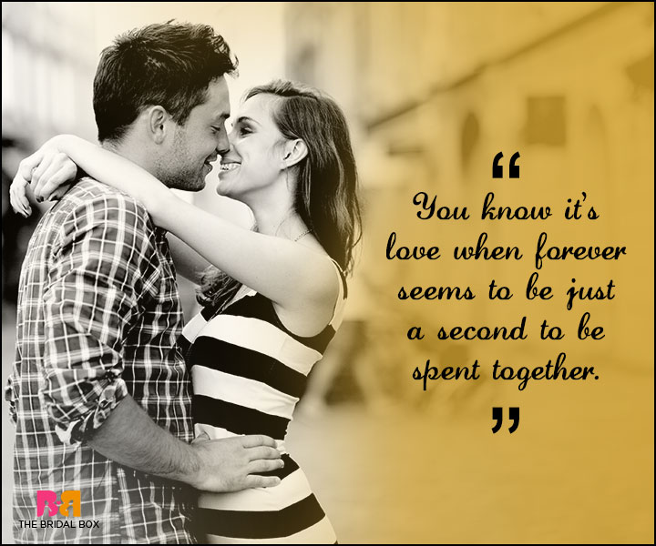 Love Forever Quotes Just A Second