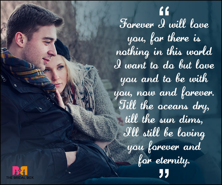 Love Forever Quotes Till The Sun Dims