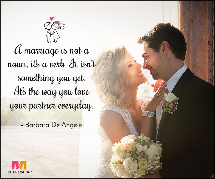 Love Marriage Quotes Nouns And Verbs