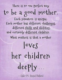 Love Quotes For Mother From Daughter