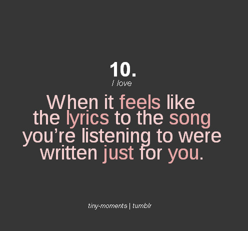 Music Lyric Quotes And Sayings
