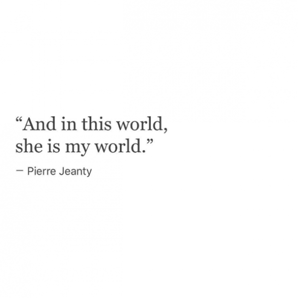 Pierre Jeanty Natalie Jeanty Poeticspill Poems About Love Quotes