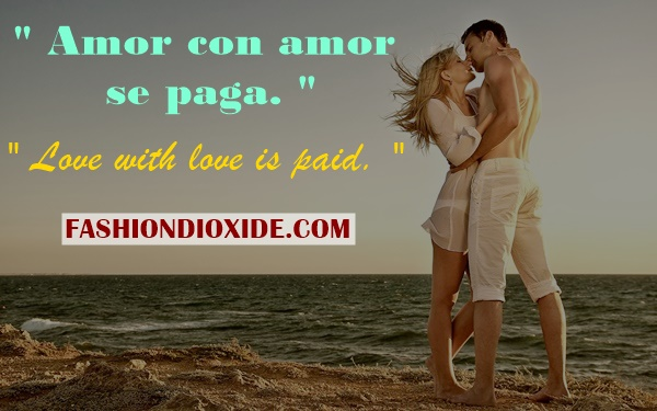 Spanish Love Quotes With English Translation