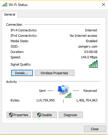 WiFi Status untuk melihat password WiFi jaringan wireless anda - Andrew Hidayat (AndrewHidayat.com)