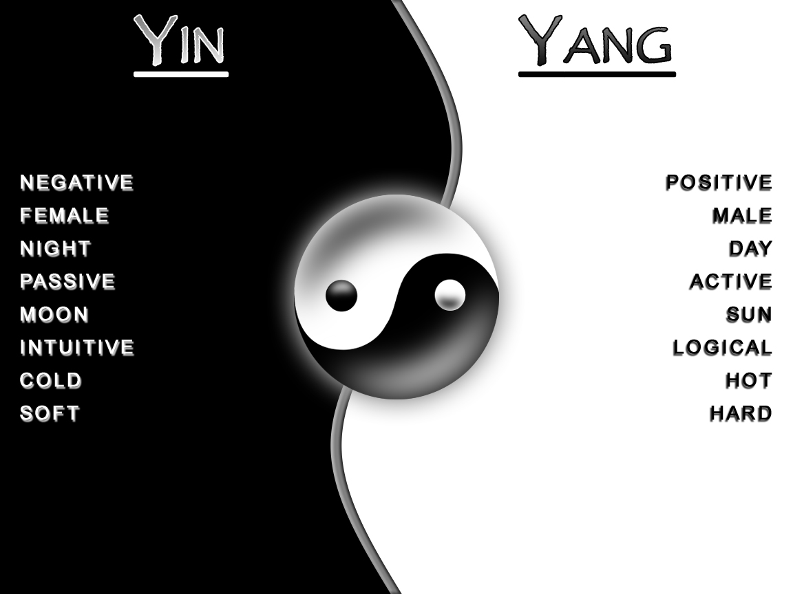 Yin Yang Shadow Light
