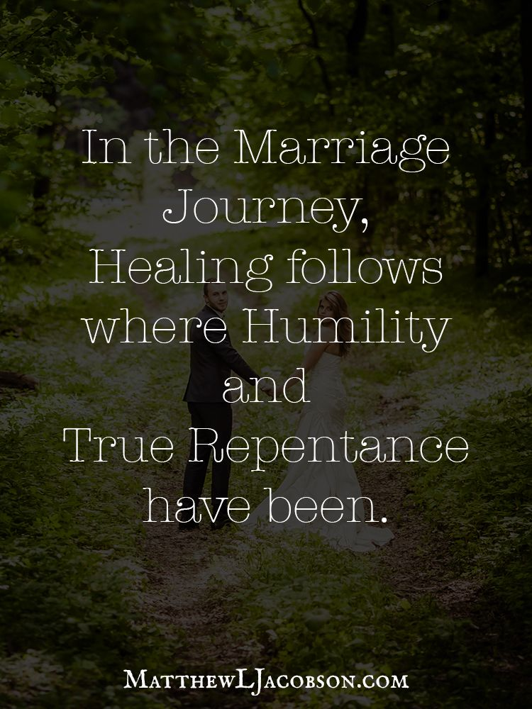 In The Marriage Journey
