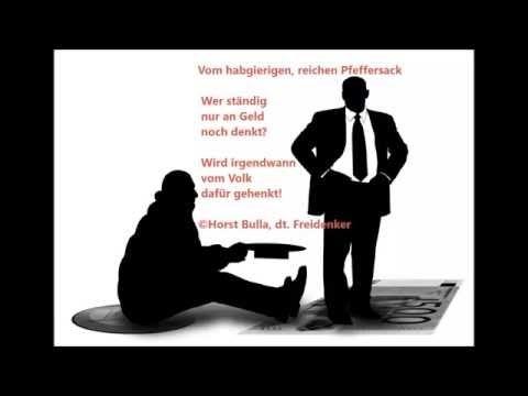 Gedicht Vom Habgierigen Reichen Pfeffersack Von Horst Bulla Dt Freidenker