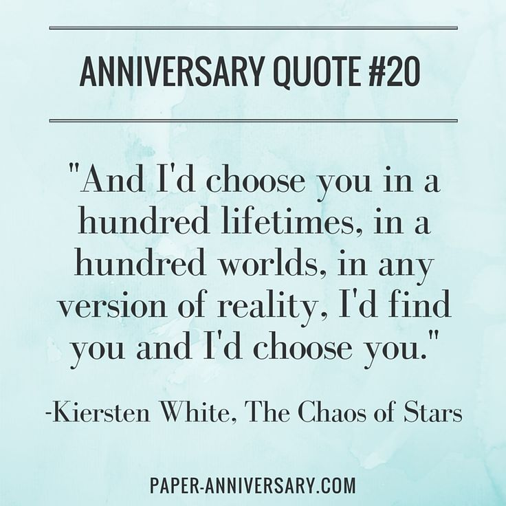 Perfect Anniversary Quotes For Him