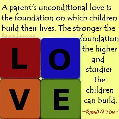 Parents Unconditional Love Quote