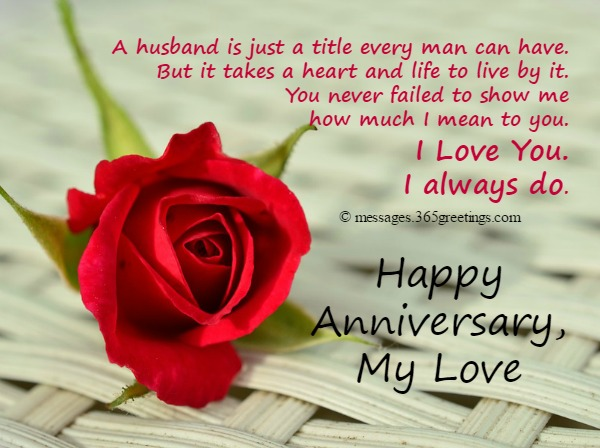 Wedding Anniversary Quotes For Husband Anniversary Card Messages For Husband