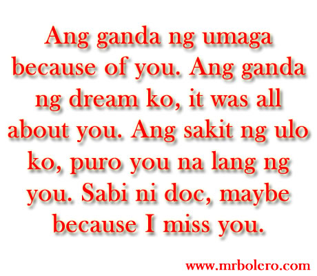 Love Quotes Tagalog Fair Sweet Tagalog Love Quotes