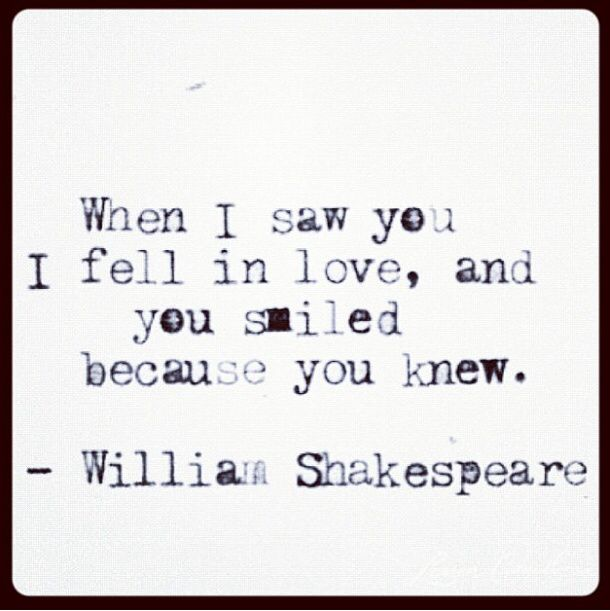 Shakespeare  C B Shakespeare  C B Love Quotes