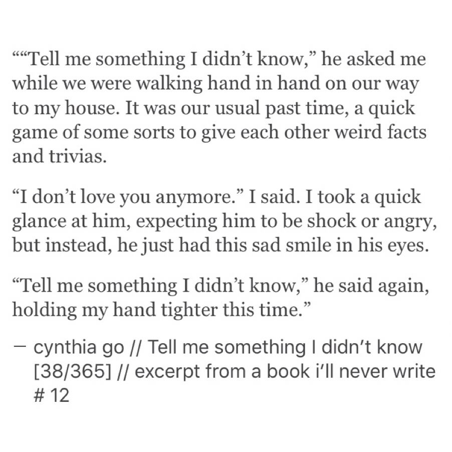 Excerpt From A Book Ill Never Write Cynthia Go Quotes Words