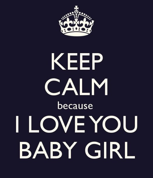 Baby Girl I Love You Quote Number  Picture Quotes