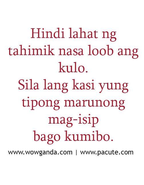 Tagalog Quotes Mga Patama Love Quotes