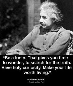I Learned Recently That Einstein Was A Very Spiritual Person Seems To Be Common Knowledge