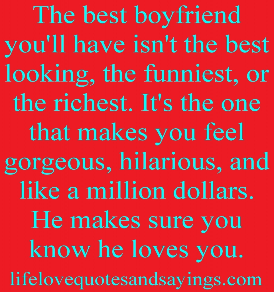 Best Love Quotes For Boyfriends Best Boyfriend Quotes Quotesgram