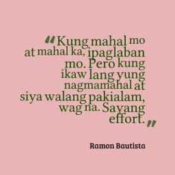 Ramon Bautista Sayang Ang Effort