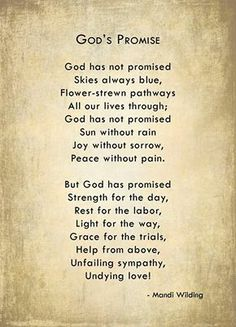 S Promise Poem Gives Comfort In The Face Of Tragedy